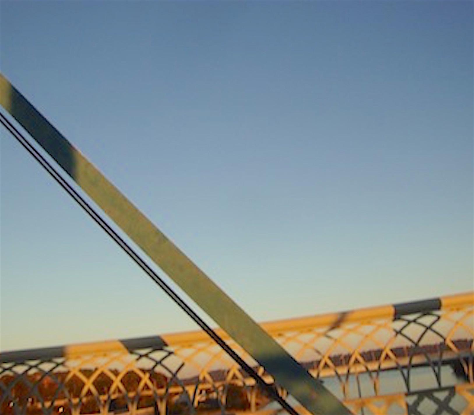 Chattanooga Walking Bridge, Sundown