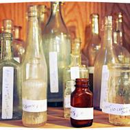 Vintage bottles. Source: Nancynance, 2012 (Flickr)