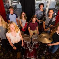 Asheville Music School Rock Band. Photo: Michael Oppenheim