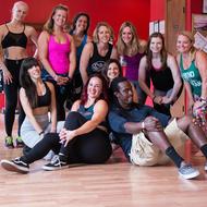 Lisa Zahiya, DJ MP Pride, and Asheville Yoga Festival attendees