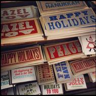 Horse and Hero handmade holiday cards