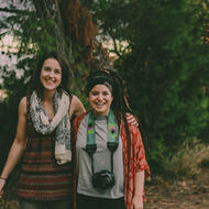 Claire Veale and Shayanne Gal, Creators of Voices of Refugees