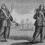 Anne Bonny and Mary Read, famous lady pirates