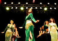 Raqs Sapphire, Studio Zahiya Intermediate student bellydance troupe member, Ramie Smith Thorstad