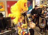 Big Chief Juan Pardo & the Golden Comanche Mardi Gras Indians. Source: YouTube