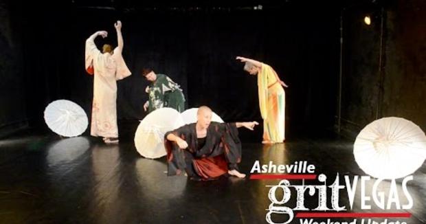 Embedded thumbnail for Asheville Butoh Fesitval on the GritVegas Weekend Update!
