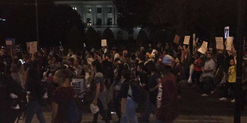 Charlotte protests. Photo: Aisha Adams