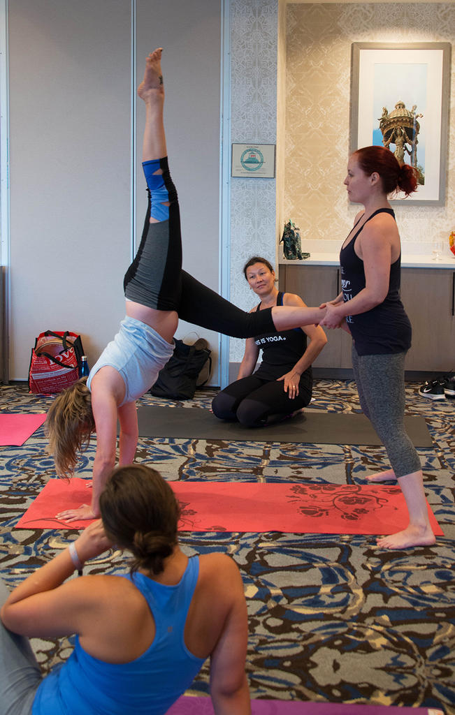 Arm Balances and Inversions from the Core with Melissa Scott