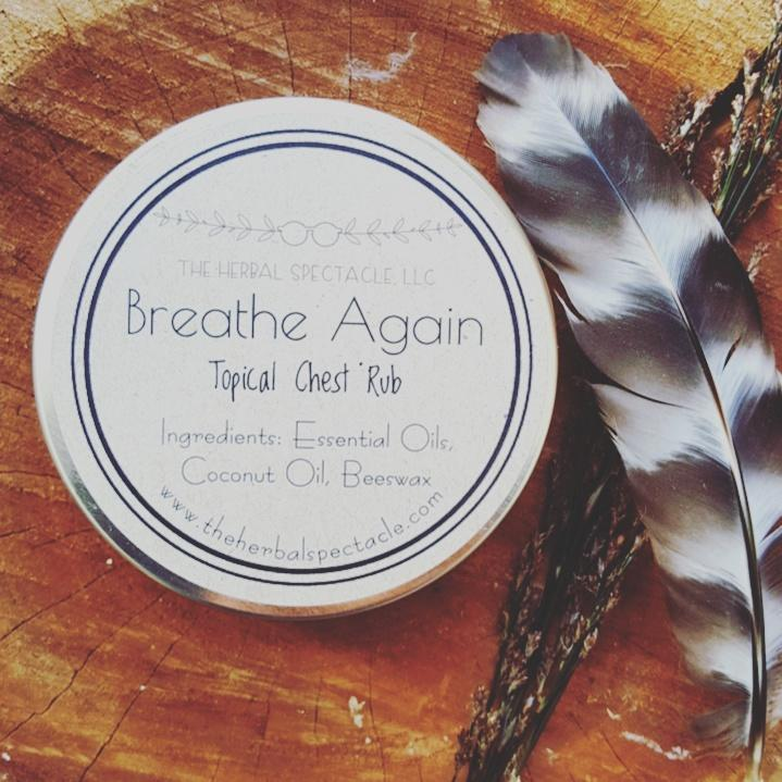 Breathe Again Topical Chest Rub