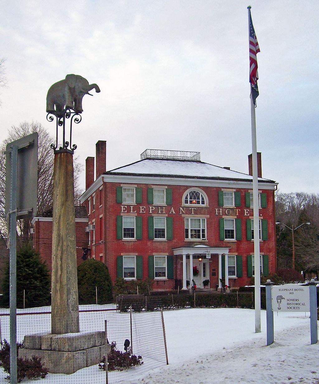 The Elephant Hotel. Source: Daniel Case @ the English Language Wikipedia