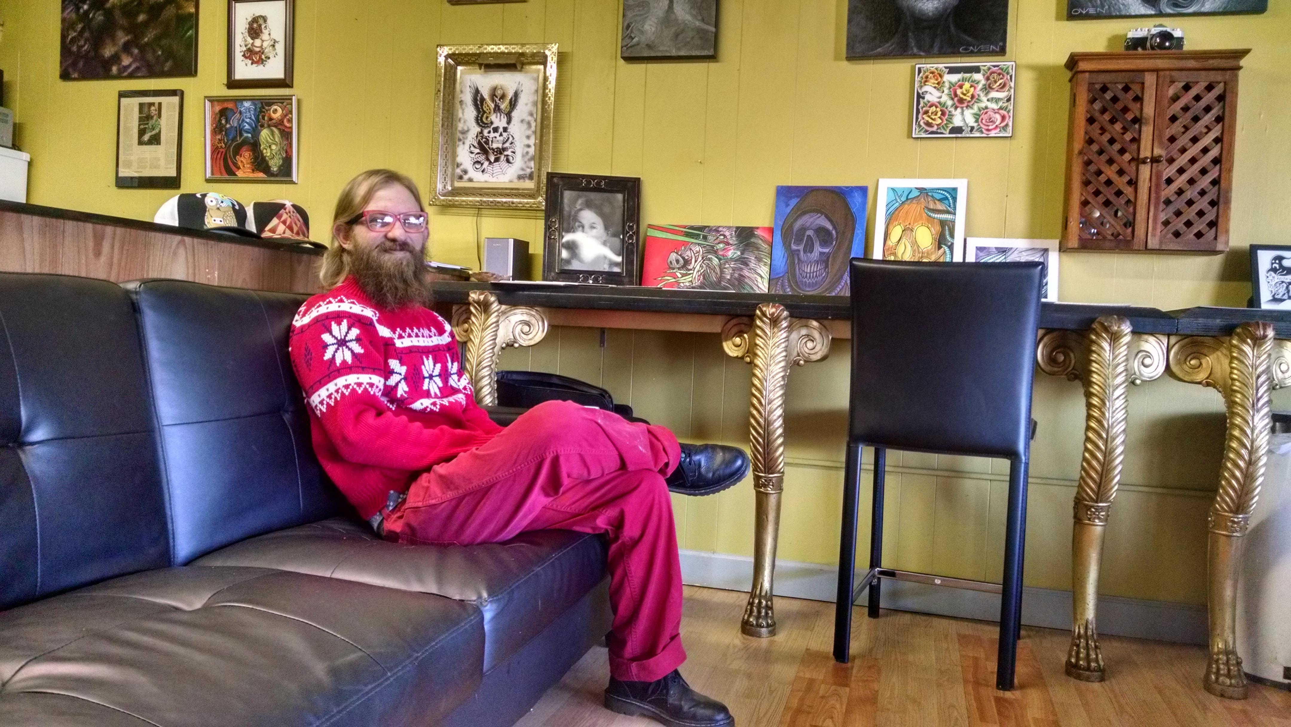 Jeremy Horton of Unification Tattoo. Photo: Tiffany Narron