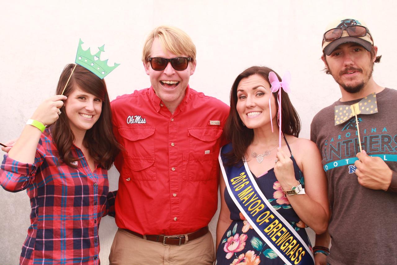 The Mayor of Brewgrass and Entourage!