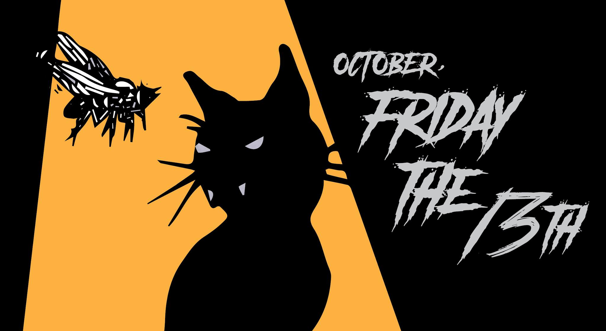 Cat Fly Friday the 13th Fest