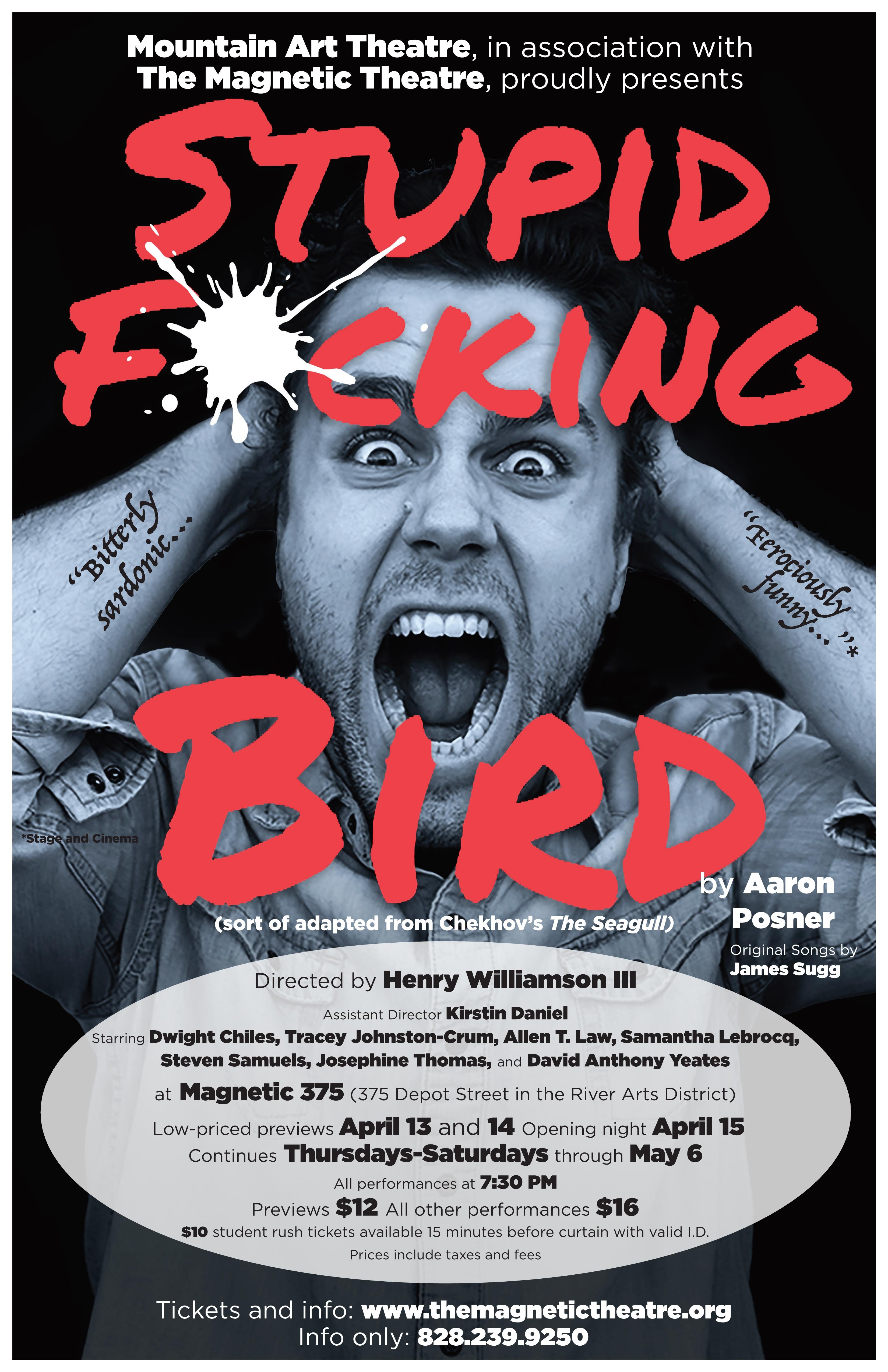 Stupid Fucking Bird poster
