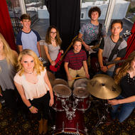 Asheville Music School Rock Band. Photo: Michael Oppenheim