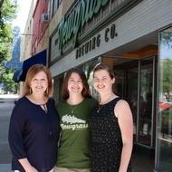 Emily Epley, Jordan Boinest, and Audrey Whetten