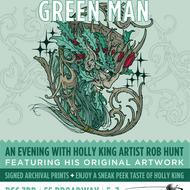 Green Man Brewery's Holly King. Design: Rob Hunt