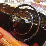 car interior shot