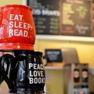 Malaprop's coffee mugs