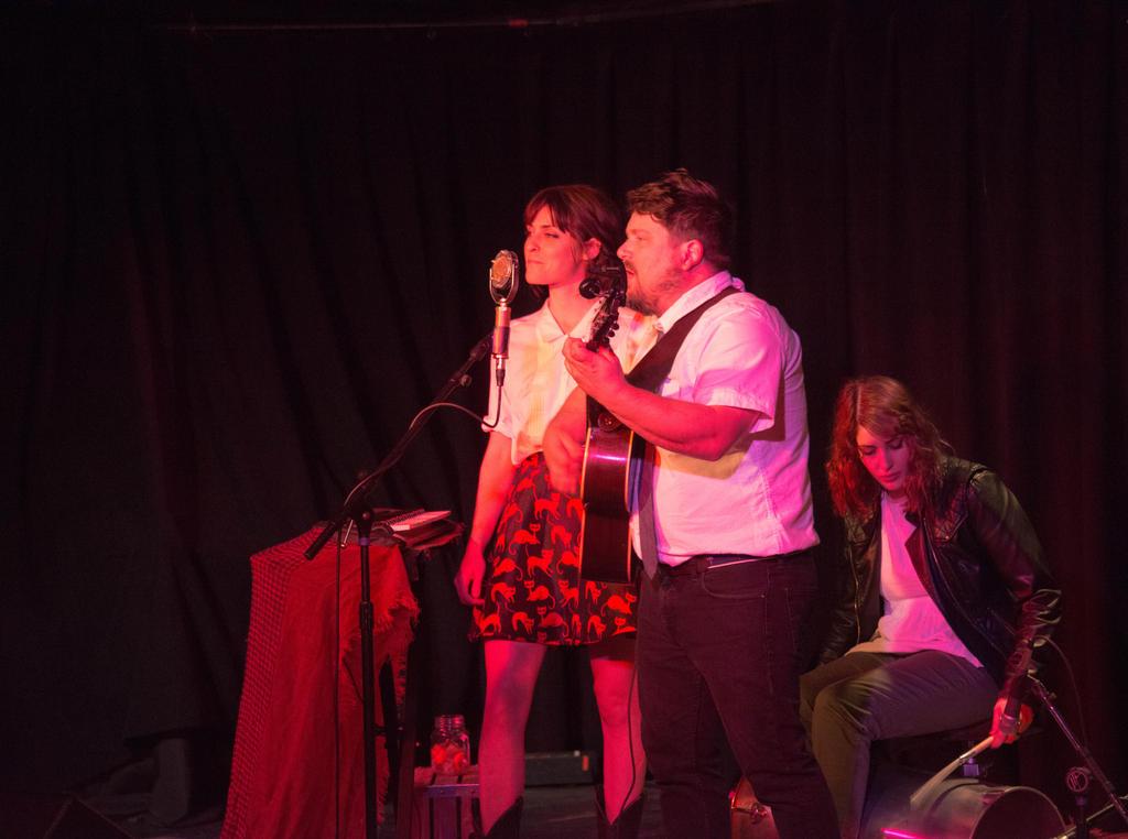 Sean Watkins, Dominique Arciero, and Gabby Arciero. Photo: Erin Fowler