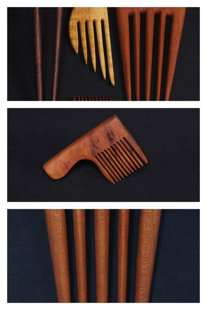 Francis Breen (Worty Knot Combs) - woodworking