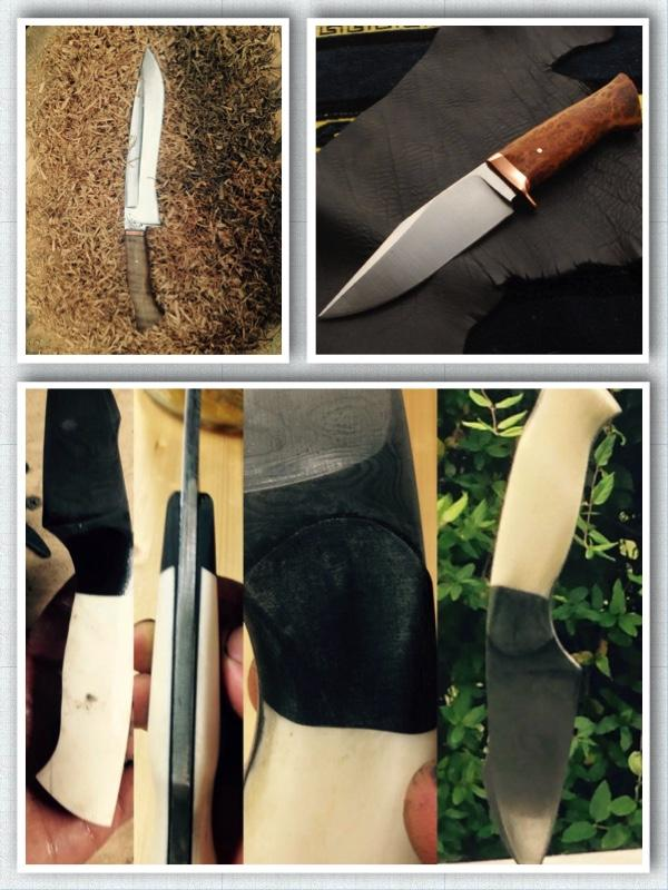 Steven Bryan (Steven Bryan Cuts) -  hand-forged knives and other items